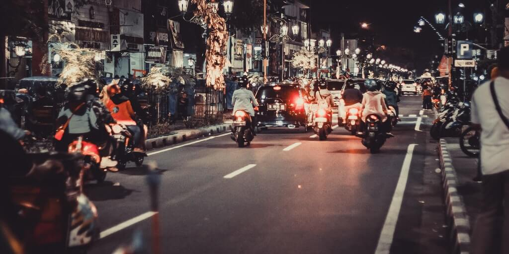 Travel abroad: Motorbikes in Bali